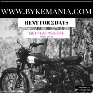 Bike rental in bangalore